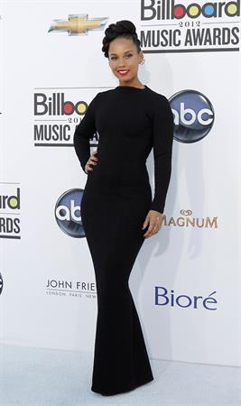 Alicia Keys attends the 2012 Billboard Music Awards in Las Vegas on May 20, 2012