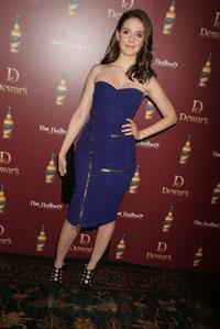 Alison Brie attends Dewars Defining the Modern Man Debate at the Redbury Hotel on March 23, 2011