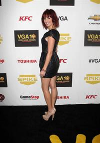 Alison Haislip attending Spike TV's 10th Annual Video Game Awards, Dec 7, 2012
