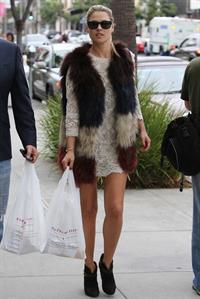 Ali Larter walking in Beverly Hills 11/12/13