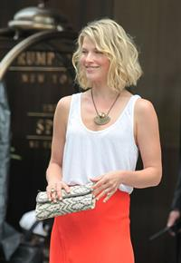 Ali Larter Leaving Her Hotel In Soho New York May 30, 2012