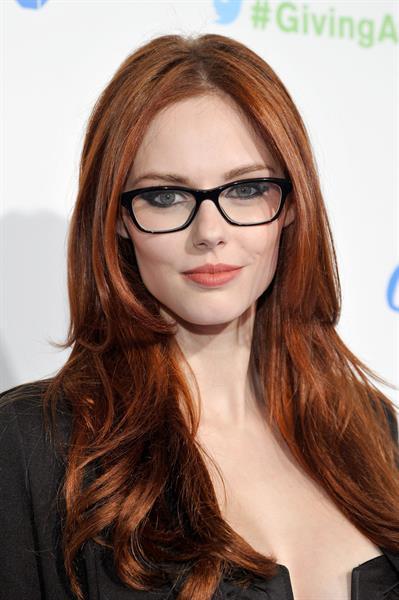 Alyssa Campanella American Giving Awards in Pasadena 12/7/12