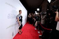 Alyssa Milano Project Runway All Stars Season 3 Premiere Party Hudson Hotel NY 22.10.1