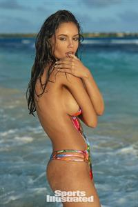 Anne De Paula in Body Paint for Sports Illustrated Swimsuit Edition 2017