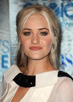 Amanda Michalka attending the People's Choice Awards in Los Angeles on January 5, 2011