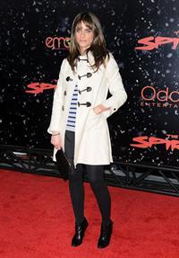 Amanda Peet the Spirit premiere in Los Angeles