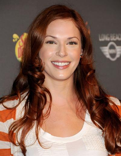 Amanda Righetti 3rd annual Los Angeles Haunted Hayride on October 9, 2011