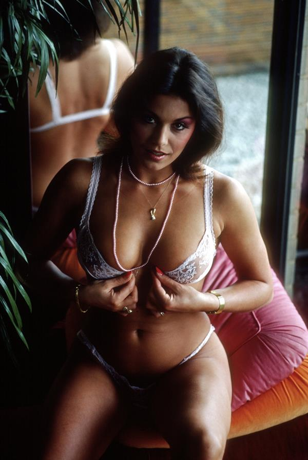 Monika Kaelin, Swiss softporno actress, Penthouse May 1980