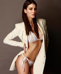 Silvia Caruso in a bikini