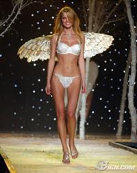 Eva Herzigova in lingerie