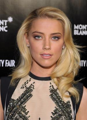 Amber Heard attends the Vanity Fair Montblanc party 21.02.12
