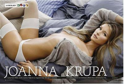 Joanna Krupa in lingerie