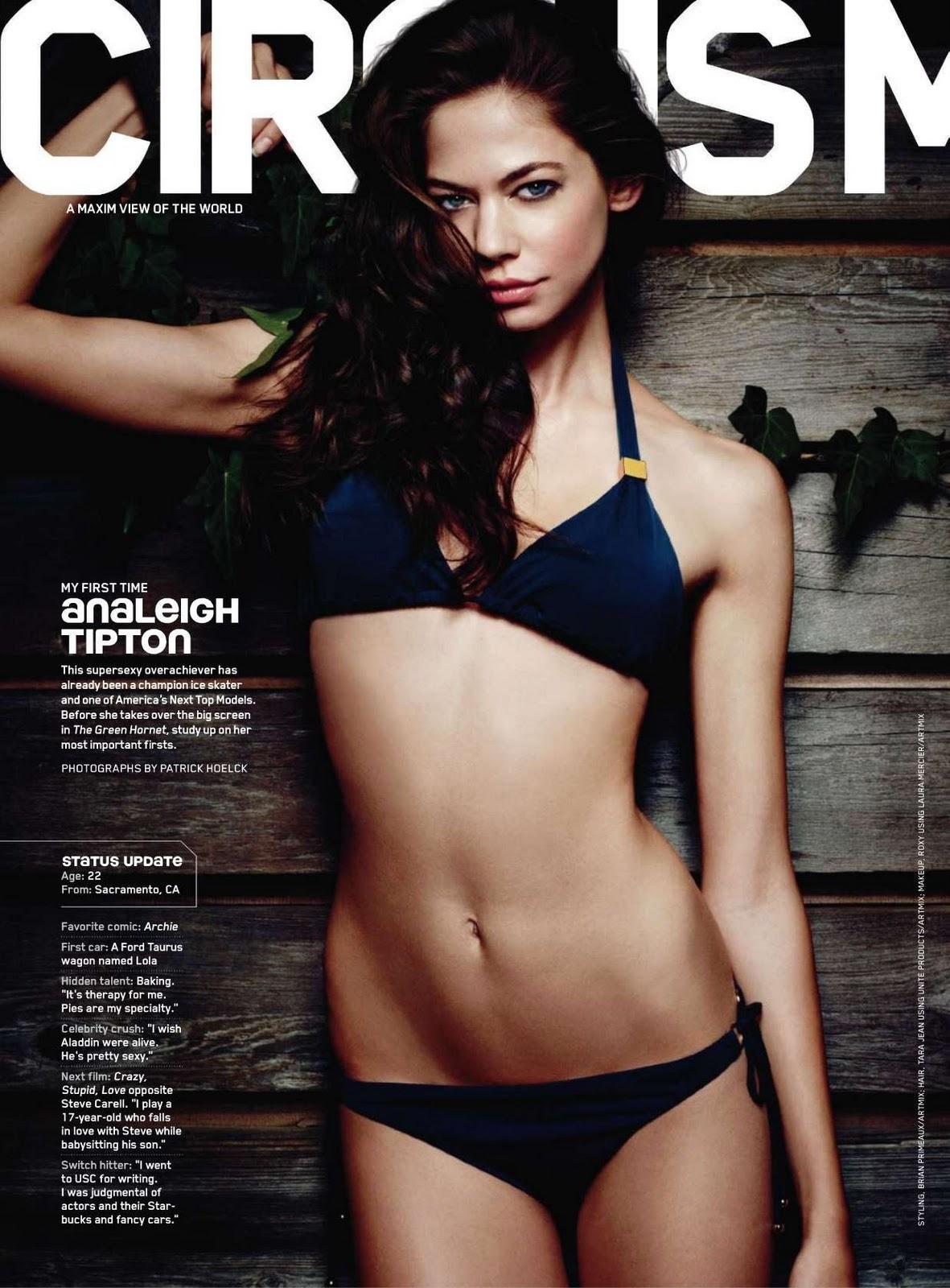 Analeigh Tipton in a bikini