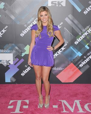 Amber Lancaster T Mobile Sidekick 4G launch event on April 20, 2011