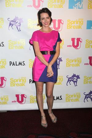 Amy Acker MTV Spring Break 2012 Day 1 at Palms Resort Casino in Las Vegas on March 20, 2012