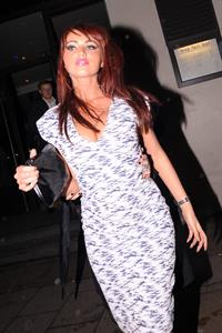 Amy Childs at the Embassy Club on February 10, 2011
