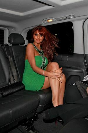 Amy Childs Embassy Club on February 17, 2011