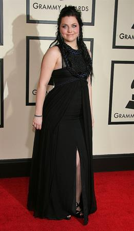 Amy Lee 50th annual Grammy awards in Los Angeles