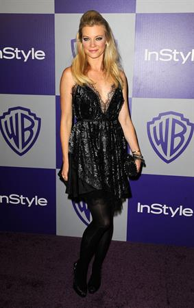 Amy Smart 11th annual Warner Brothers InStyle Golden Globes after party at the Beverly Hilton Hotel on January 17, 2010