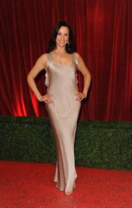 Andrea McLean attending the British Soap Awards on April 29, 2012