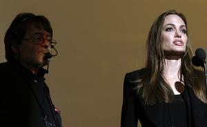 Angelina Jolie at Academy Awards Rehearsal in Los Angeles on February 24, 2012
