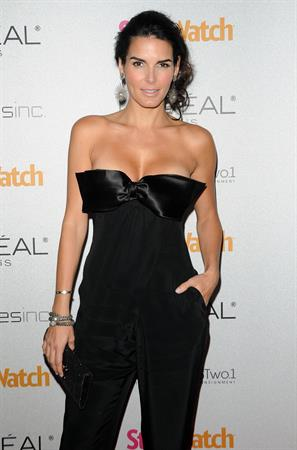 Angie Harmon at People StyleWatch Hosts a Night of Red Carpet Style on January 27, 2011