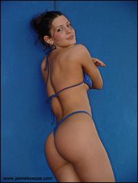 Jaime Koeppe in a bikini - ass