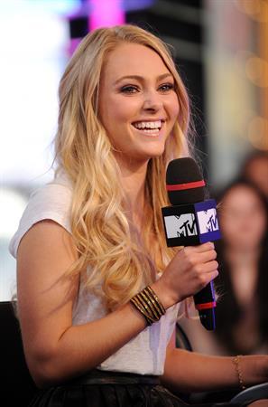 Annasophia Robb MTV the Seven Studios on April 4, 2011