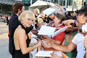 Anna Faris Moneyball Premiere in Toronto on September 9, 2011