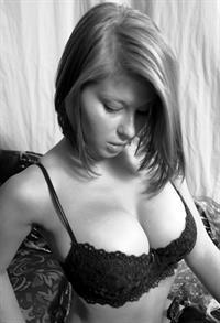 Abby Porter in lingerie
