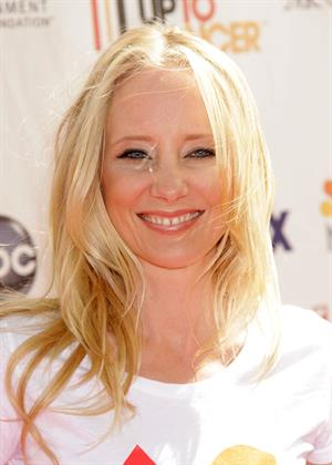 Anne Heche Stand Up to Cancer on September 10 2010