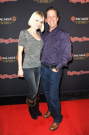 Anna Faris Rolling Stone Bacardi Bash party in Indiana 4/2/2012