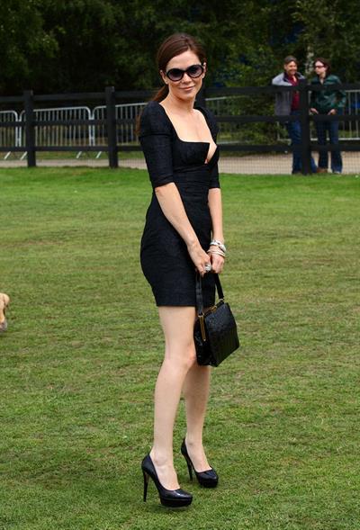 Anna Friel the Cartier Polo Tournament in Windsor England