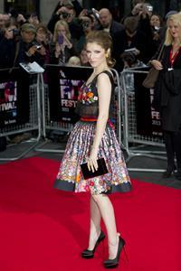 Anna Kendrick 'Drinking Buddies' screening, London, October 18, 2013