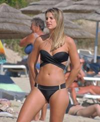 Vogue Williams in a bikini