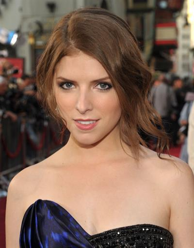 Anna Kendrick Los Angeles premiere of Scott Pilgrim vs the World on July 27, 2010