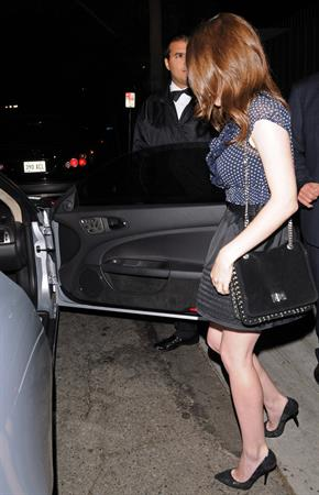 Anna Kendrick leaving a party in West Hollywood September 23, 2010