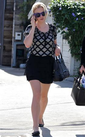 Anna Paquin out and about in Los Angeles on October 28, 2010