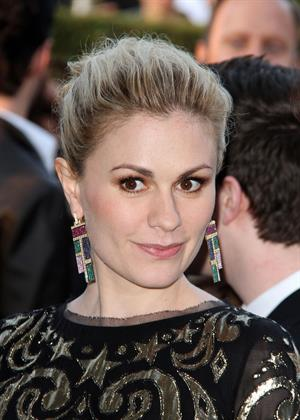 Anna Paquin 20th annual Elton John AIDS Foundation party on February 26, 2012