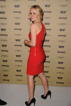 Anna Paquin attends Entertainment Weekly and Women in Film pre Emmy party on August 27, 2010