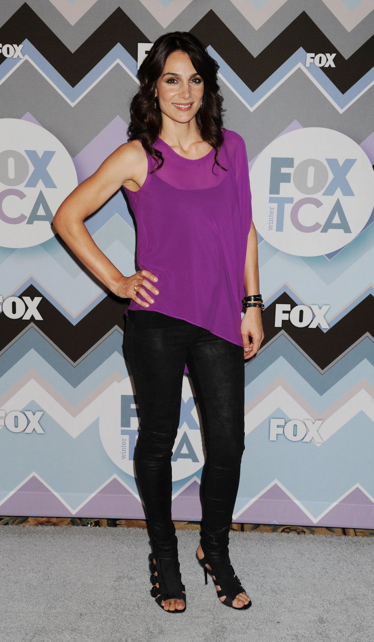 Annie Parisse 2013 TCA Winter Press Tour - FOAll-Star Party (Jan 8, 2013)