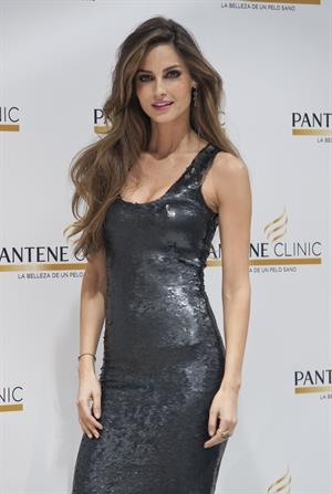 Ariadne Artiles opening of Pantene Clinic in Madrid on March 7, 2012