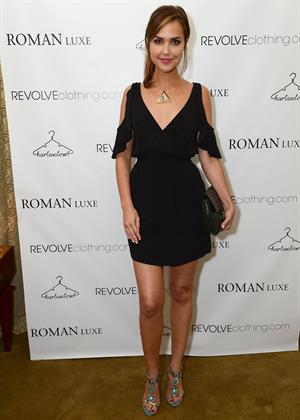 Arielle Kebbel RevolveClothing.com and Karla Deras celebrate the launch of Roman Luxe