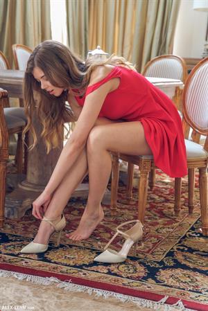 Red Little Dress for Alex-Lynn
