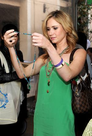 Ashley Jones Kari Feinsteins Academy Awards Style Lounge in Beverly Hills  on February 24, 2011
