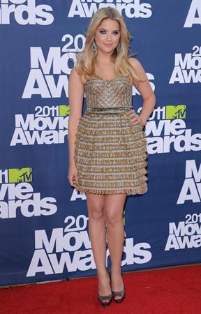 Ashley Benson 2011 MTV Movie Awards in Los Angeles on June 5, 2011