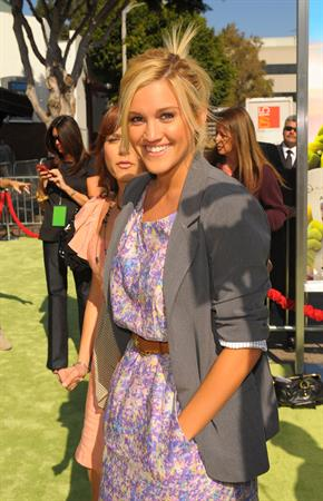 Ashley Roberts attends the Los Angeles premiere of Planet 51 held at the Mann Village Theatre in Westwood California