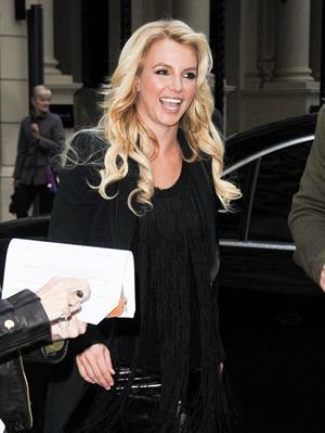 Britney Spears in London 10/14/13