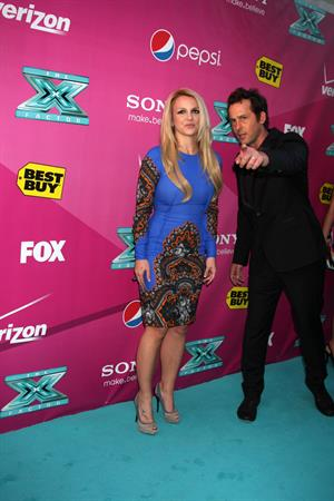 Britney Spears - The X-Factor Season 2 premiere in Hollywood - September 11, 2012
