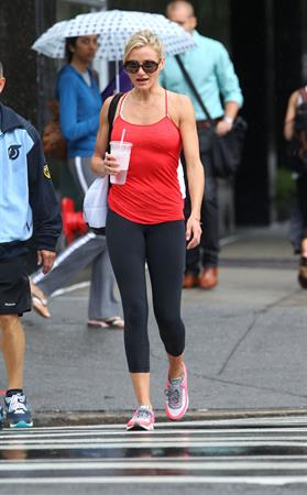 Cameron Diaz - New York - August 27, 2012